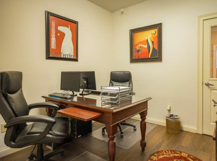 Private Office/Business Center at Heritage Trail Apartments, Indiana